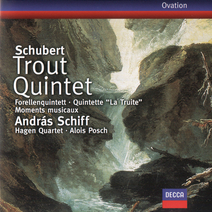 Schubert: Trout Quintet; 6 Moments musicaux 0028945860822