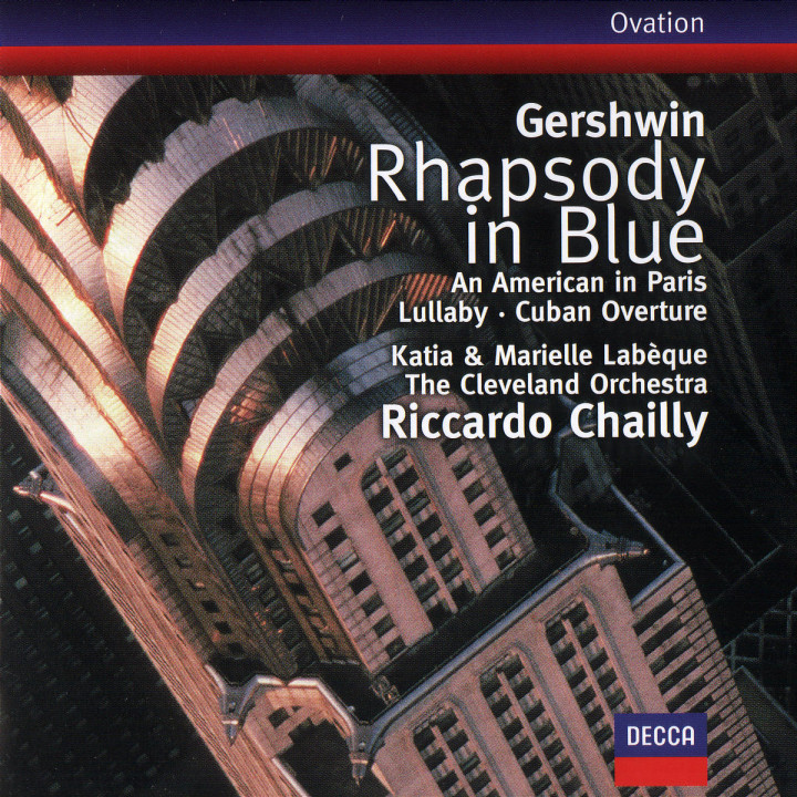 Gershwin: Rhapsody in Blue / An American in Paris / Cuban Overture / Lullaby 0028946642427