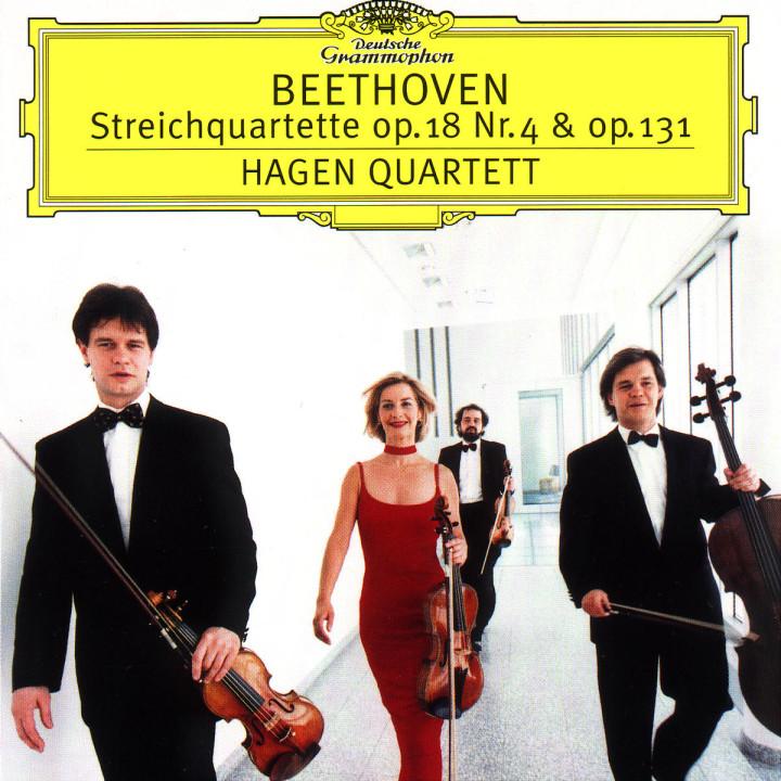 Beethoven: String Quartets No.4 op.18 & No.14 op.131 0028945961123