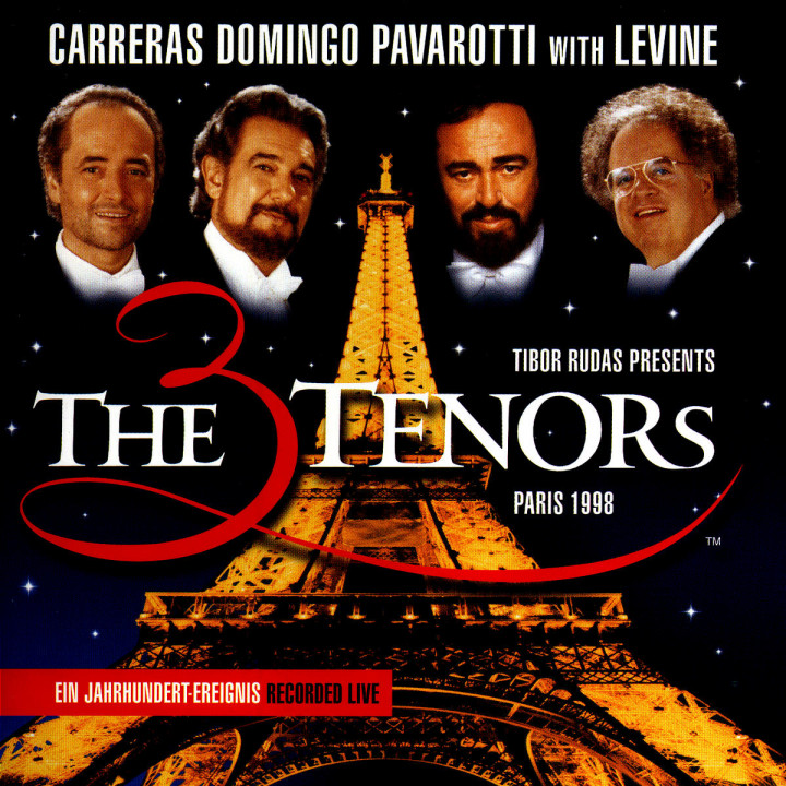 The Three Tenors - Paris 1998 0028946050020