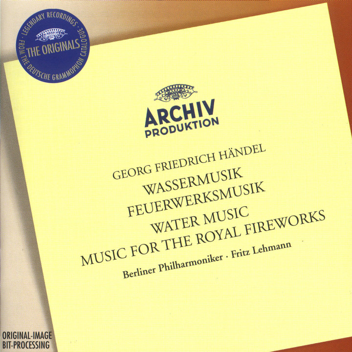 Handel: Water Music / Music for the Royal Fireworks 0028945775829
