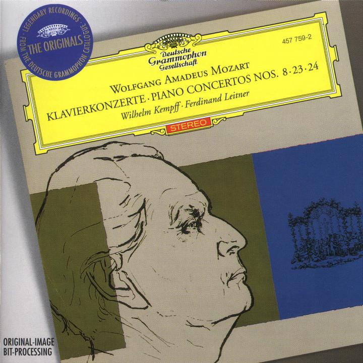 Mozart: Piano Concertos Nos.8, 23 & 24 0028945775922