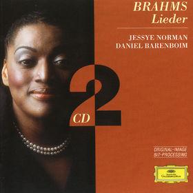 Johannes Brahms, Lieder, 00028945946924