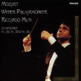 Wolfgang Amadeus Mozart, Sinfonien Nr. 29; 33 und 34, 00028946290620