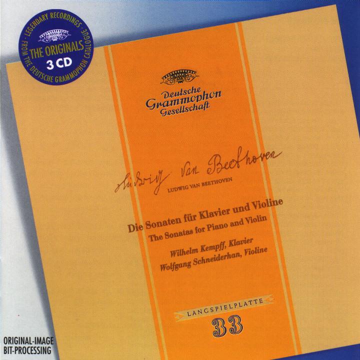 Beethoven: Sonatas For Piano And Violin 0028946360521