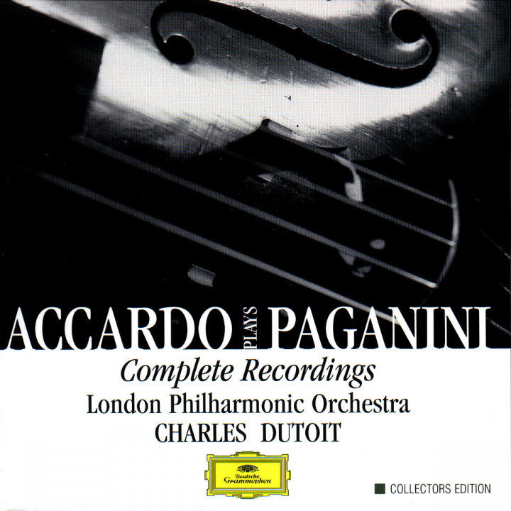Accardo Plays Paganini- Complete Recordings 0028946375426