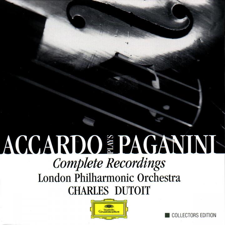 Accardo Plays Paganini- Complete Recordings 0028946375426