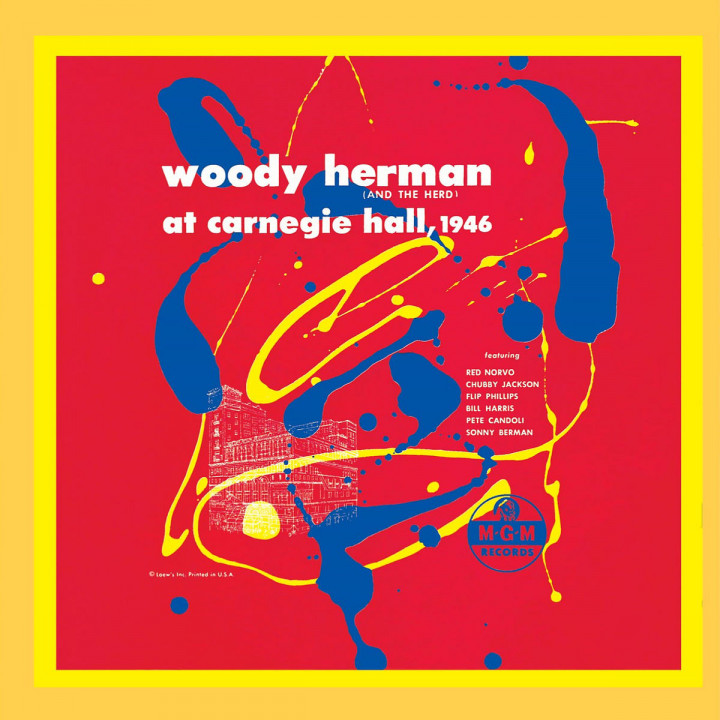 Woody Herman (And The Herd) At Carnegie Hall, 1946 0731455983326