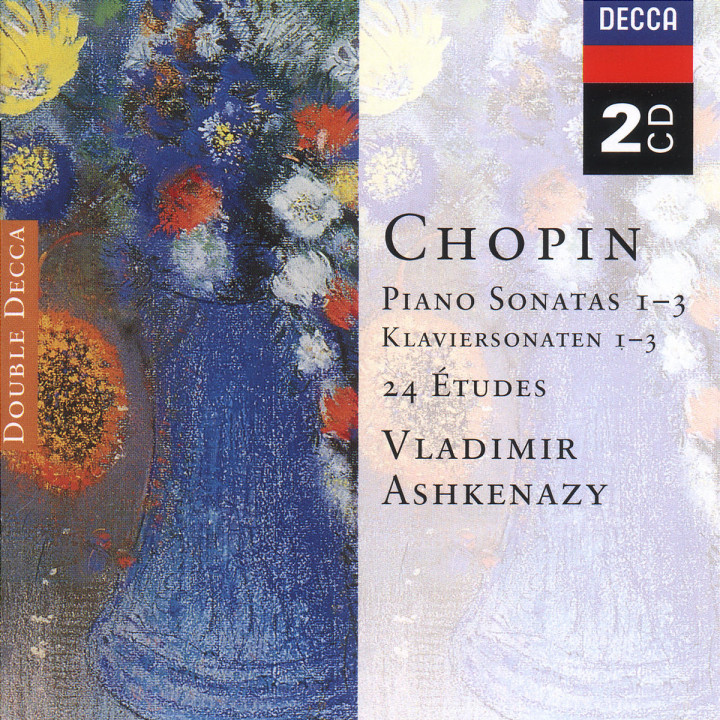 Chopin: Piano Sonatas Nos. 1 - 3; 24 Etudes; Fantaisie in F minor 0028946625022