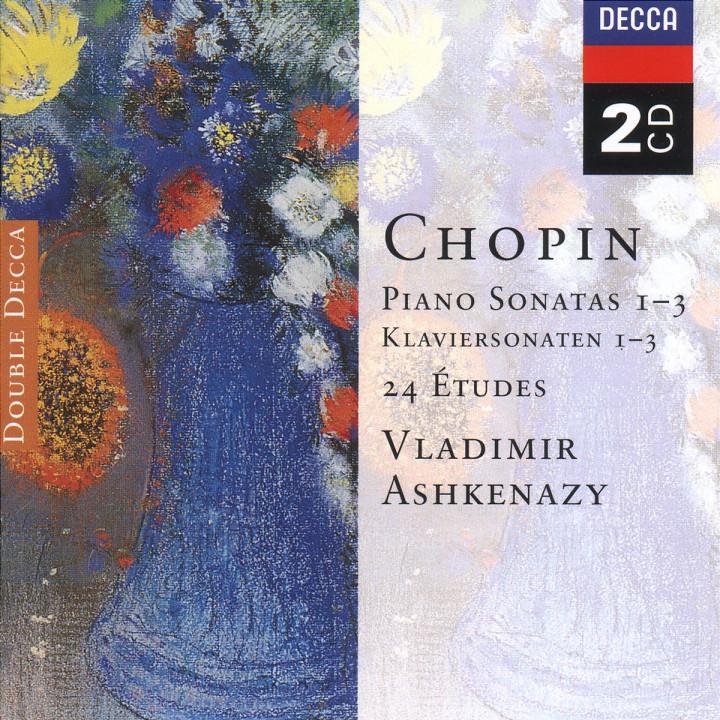 Chopin: Piano Sonatas Nos. 1 - 3; 24 Etudes; Fantaisie in F minor 0028946625022