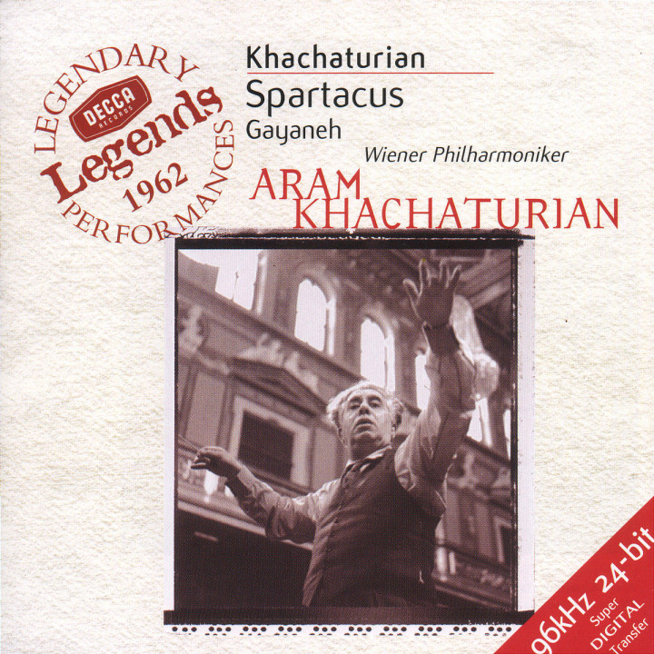 Khachaturian: Spartacus; Gayaneh; The Seasons 0028946031520