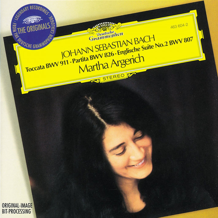 Bach, J.S.: Toccata BWV 911; Partita No.2; English Suite No.2 0028946360428