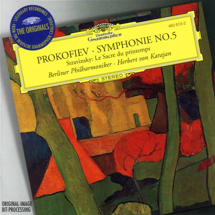 Prokofiev: Symphony No.5 / Stravinksy: Le Sacre du printemps 0028946361326