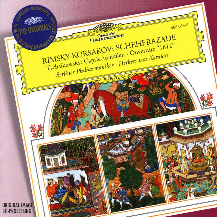 "Rimsky-Korsakov: Scheherazade / Tchaikovsky: Capriccio; Overture ""1812"" 0028946361429"