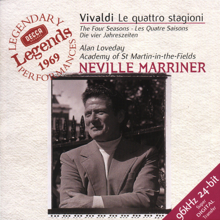 Vivaldi: The Four Seasons, etc. 0028946623226