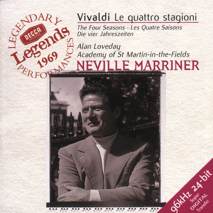 Vivaldi: The Four Seasons, etc. 0028946623226
