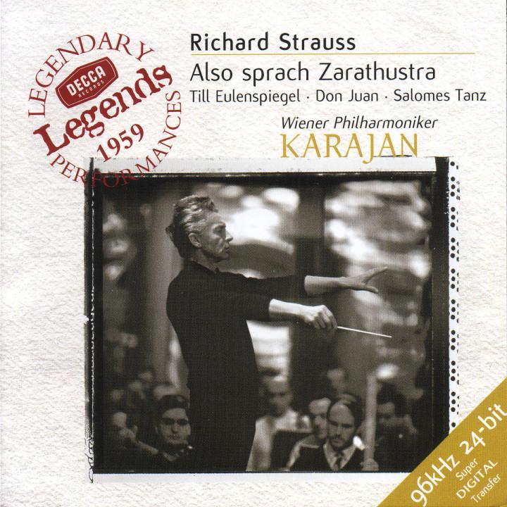 Strauss, R.: Also sprach Zarathustra; Salomes Tanz; Don Juan; Till Eulenspiegel 0028946638822