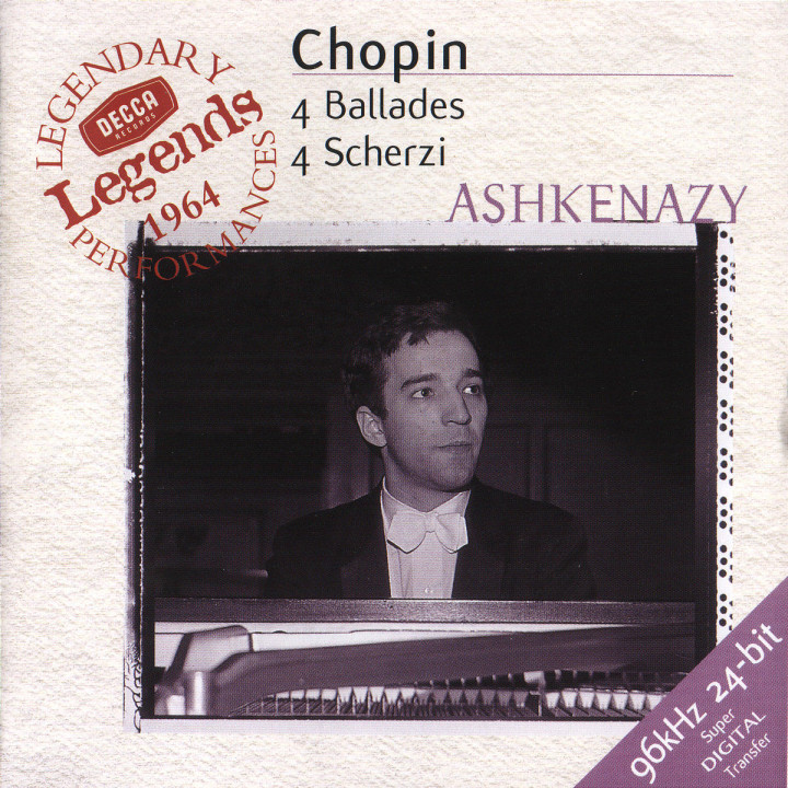 Chopin: 4 Ballades; 4 Scherzi 0028946649929