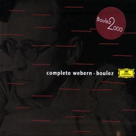 Die Berliner Philharmoniker, Complete Webern, 00028945763729
