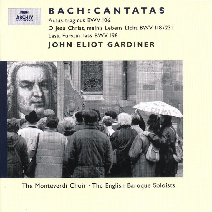 Bach, J.S.: Cantatas BWV 106, 118 & 198 0028946358124