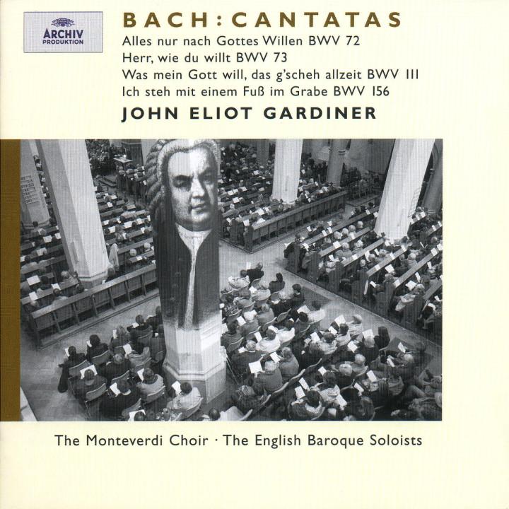 J.S. Bach: Cantatas BWV 72; 73; 111; 156 0028946358227