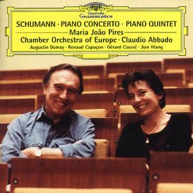 Klavierkonzert in a-moll op. 54, Klavierquintett in Es-dur op. 44, 00028946317921