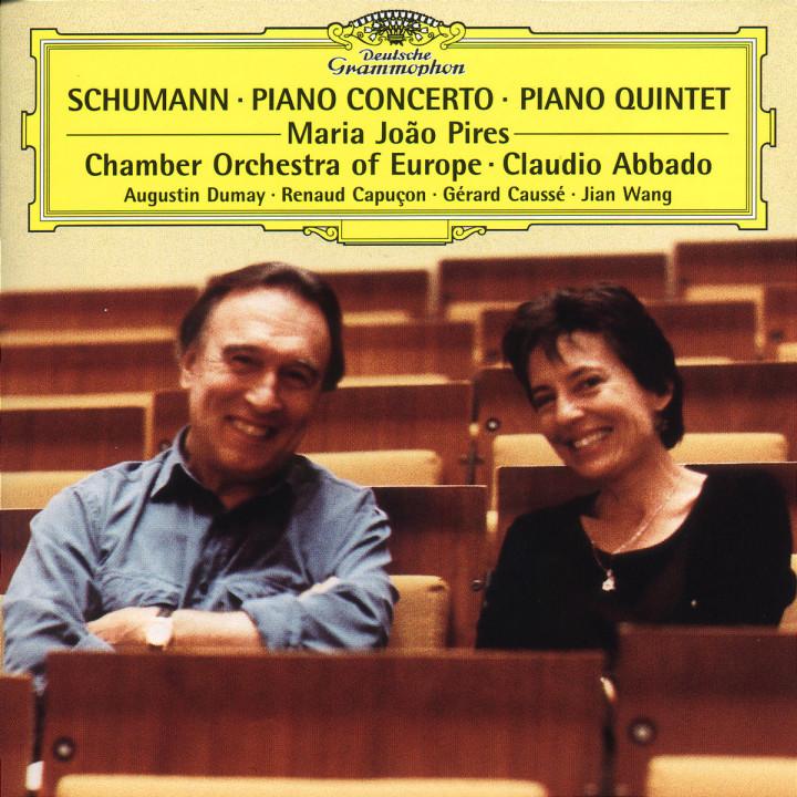 Klavierkonzert in a-moll op. 54; Klavierquintett in Es-dur op. 44 0028946317925