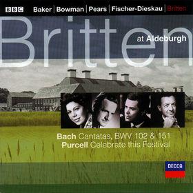 Johann Sebastian Bach, Kantaten BWV 102&151; Celebrate this Festival, 00028946681923