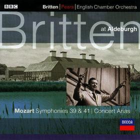 Wolfgang Amadeus Mozart, Sinfonien Nr. 39&41; Konzert Arien, 00028946682029