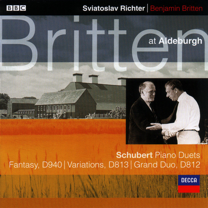 Schubert: Fantasy In F minor For Piano Duet; Grand Duo Sonata in C etc. 0028946682223