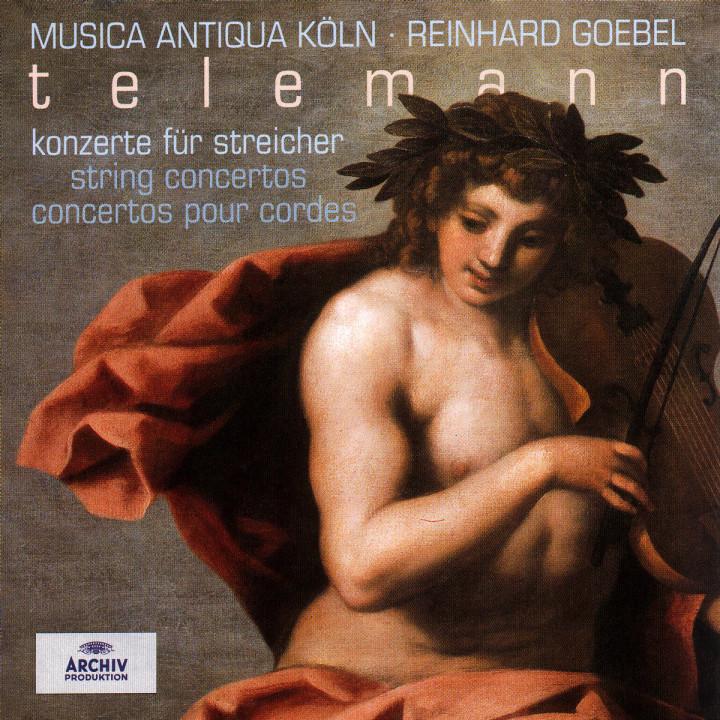 Telemann: String Concertos 0028946307427