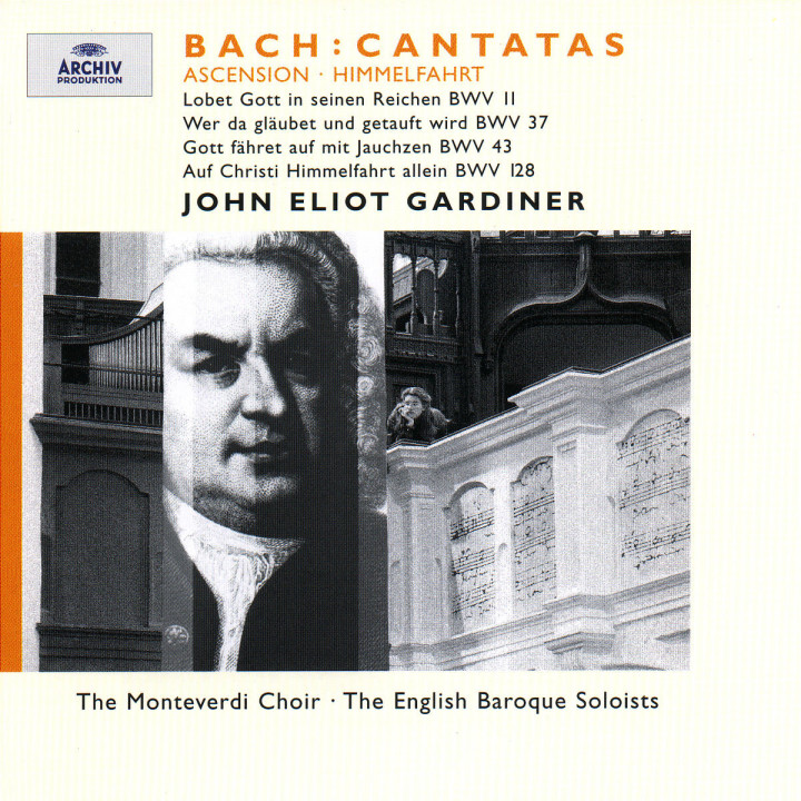 Bach: Ascension Cantatas BWV 11, 37, 43 & 128 0028946358320