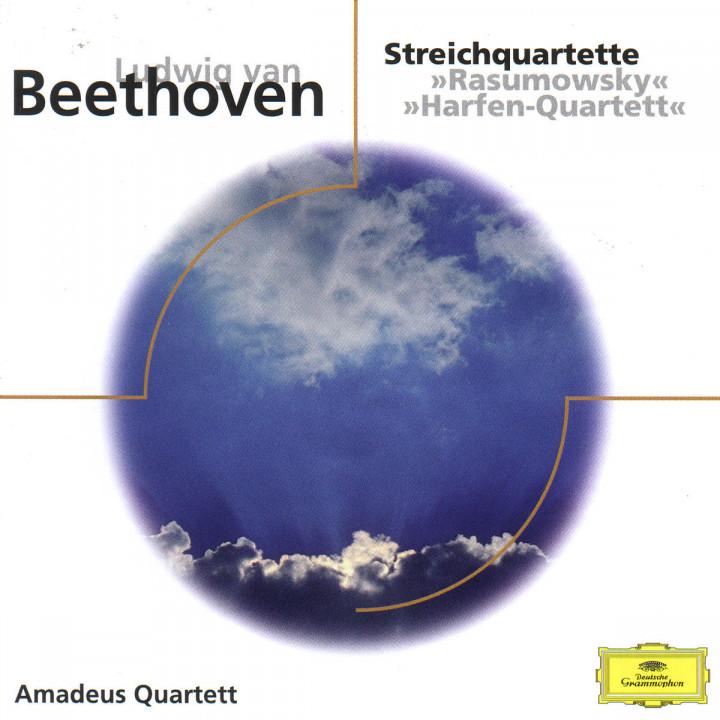 """Streichquartette """"Rasumowsky"""" und """"Harfen-Quartett"""""""