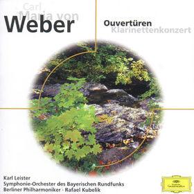 eloquence, Carl Maria von Weber: Overtures, Clarinet Concerto No. 1, 00028946949023