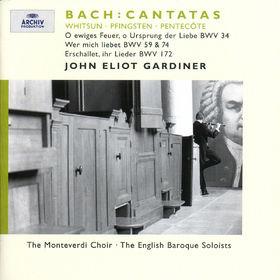 Magdalena Kozena, Bach, J.S.: Whitsun Cantatas BWV 172, 59, 74 & 34, 00028946358429