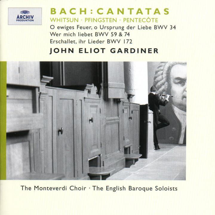 Bach, J.S.: Whitsun Cantatas BWV 172, 59, 74 & 34 0028946358423