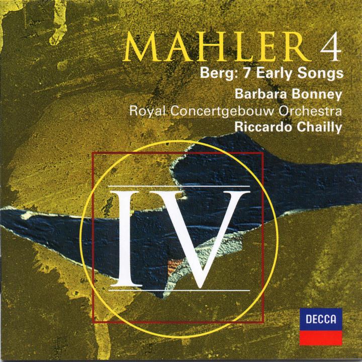 Mahler: Symphony No.4 / Berg: Seven Early Songs 0028946672024