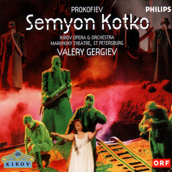 Prokofiev: Semyon Kotko 0028946460522