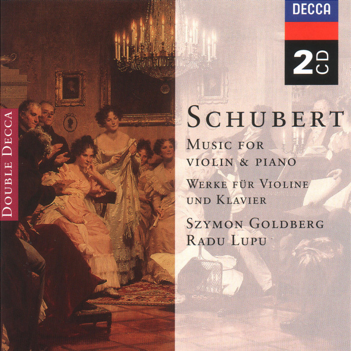 Schubert: Music for Violin & Piano; Arpeggione Sonata 0028946674820