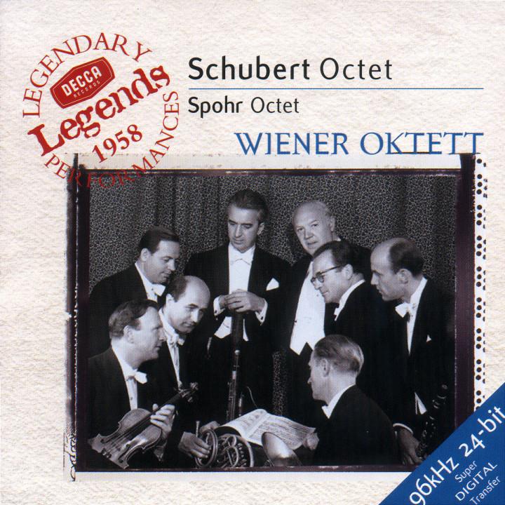 Schubert: Octet in F / Spohr: Octet in E 0028946658024