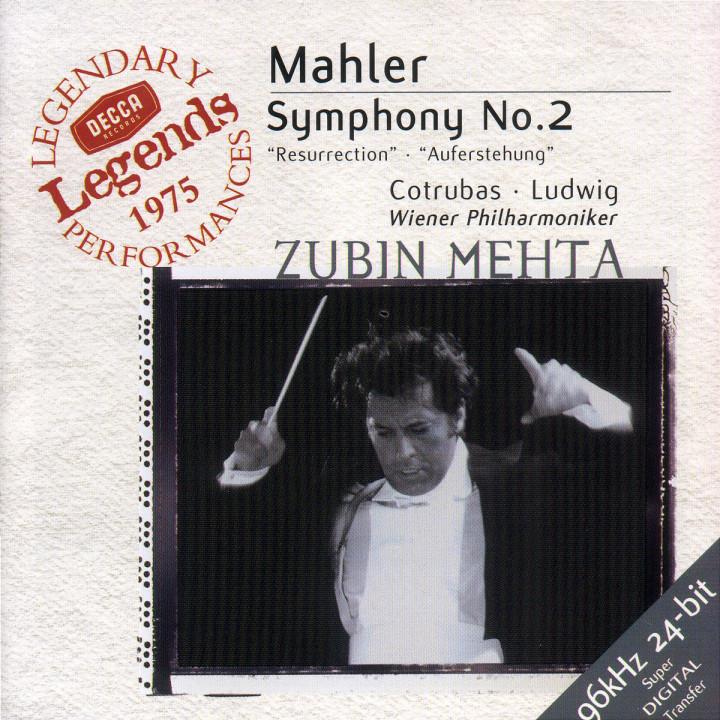 Mahler: Symphony No.2 0028946699223