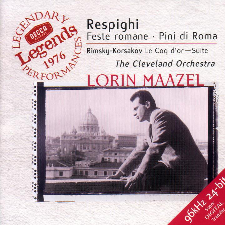 Feste romane; Pini di Roma; Le Coq d'or - Suite 0028946699326