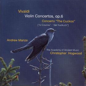 Christopher Hogwood, Violinkonzerte op. 6; Der Kuckuck, 00028945565323