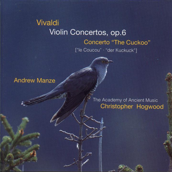 """Violinkonzerte op. 6; """"Der Kuckuck"""" 0028945565329"""