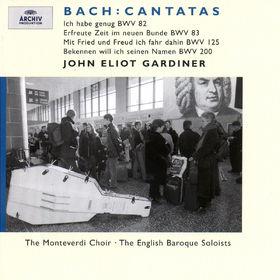 J.S. Bach: Cantatas BWV 83, 82, 125, 200, 00028946358528