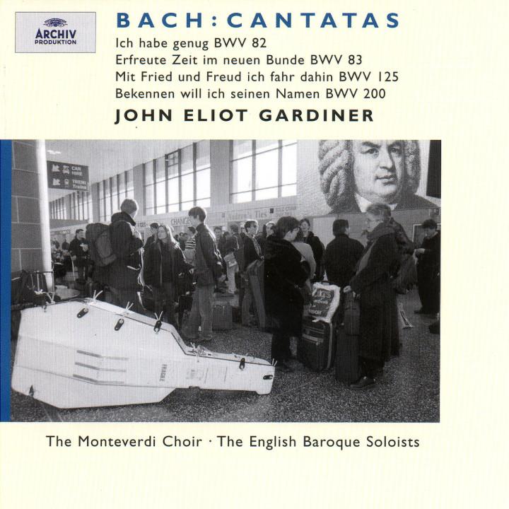 J.S. Bach: Cantatas BWV 83; 82; 125; 200 0028946358526