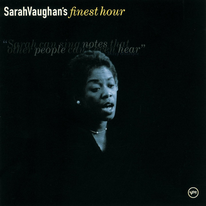 Sarah Vaughan: Finest Hour 0731454359726