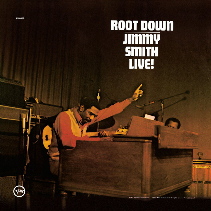 Root Down - Jimmy Smith Live! 0731455980529