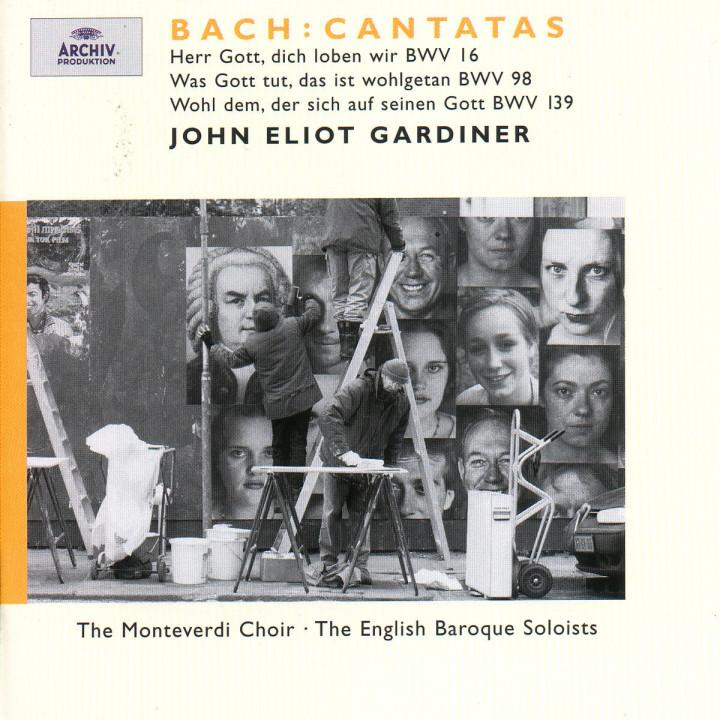 Bach: Cantatas BWV 16; 98; 139 0028946358629
