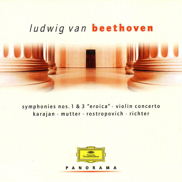 """Sinfonien Nr. 1 & 3 """"Eroica""""; Violinkonzert 0028946910924"""